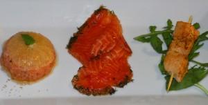 La mia variazione di salmone