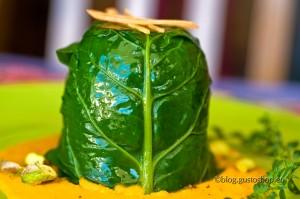 Sformatino di cous cous all'oro verde