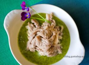 Lampredotto (di Falorni) in salsa verde